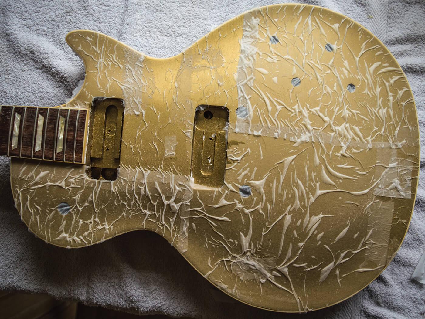 Greco goldtop DIY