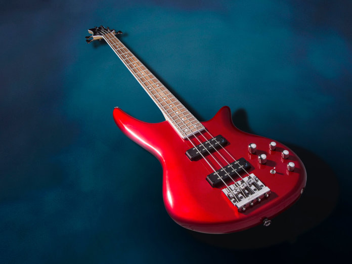 The JS Series Spectra Bass JS3 in Metallic Red