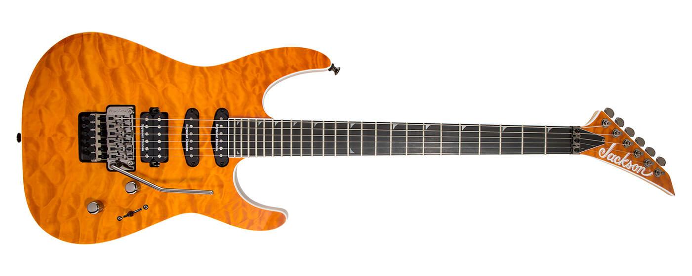 The Pro Series Soloist SL3Q MAH in Dark Amber