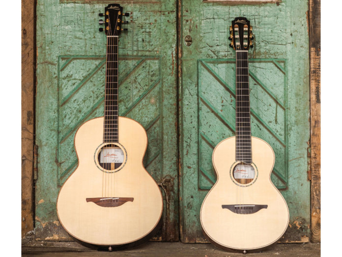 Lowden F 12 Fret and Wee Lowden Jazz