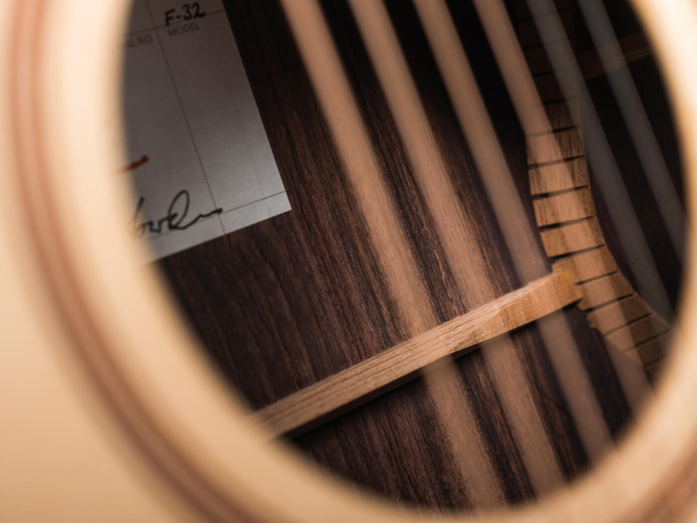 Lowden F32 Review Sound Hole