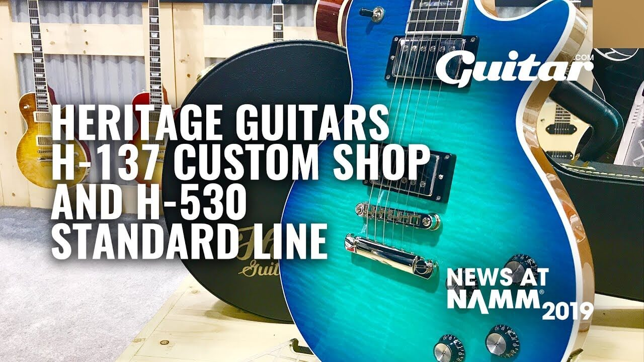 NAMM 2019 Video: Heritage releases four Masterbuilt custom models  Gibson Wiring Harness on gibson les paul wiring mods, gibson 50s wiring, gibson switch wiring, gibson es-335 wiring,