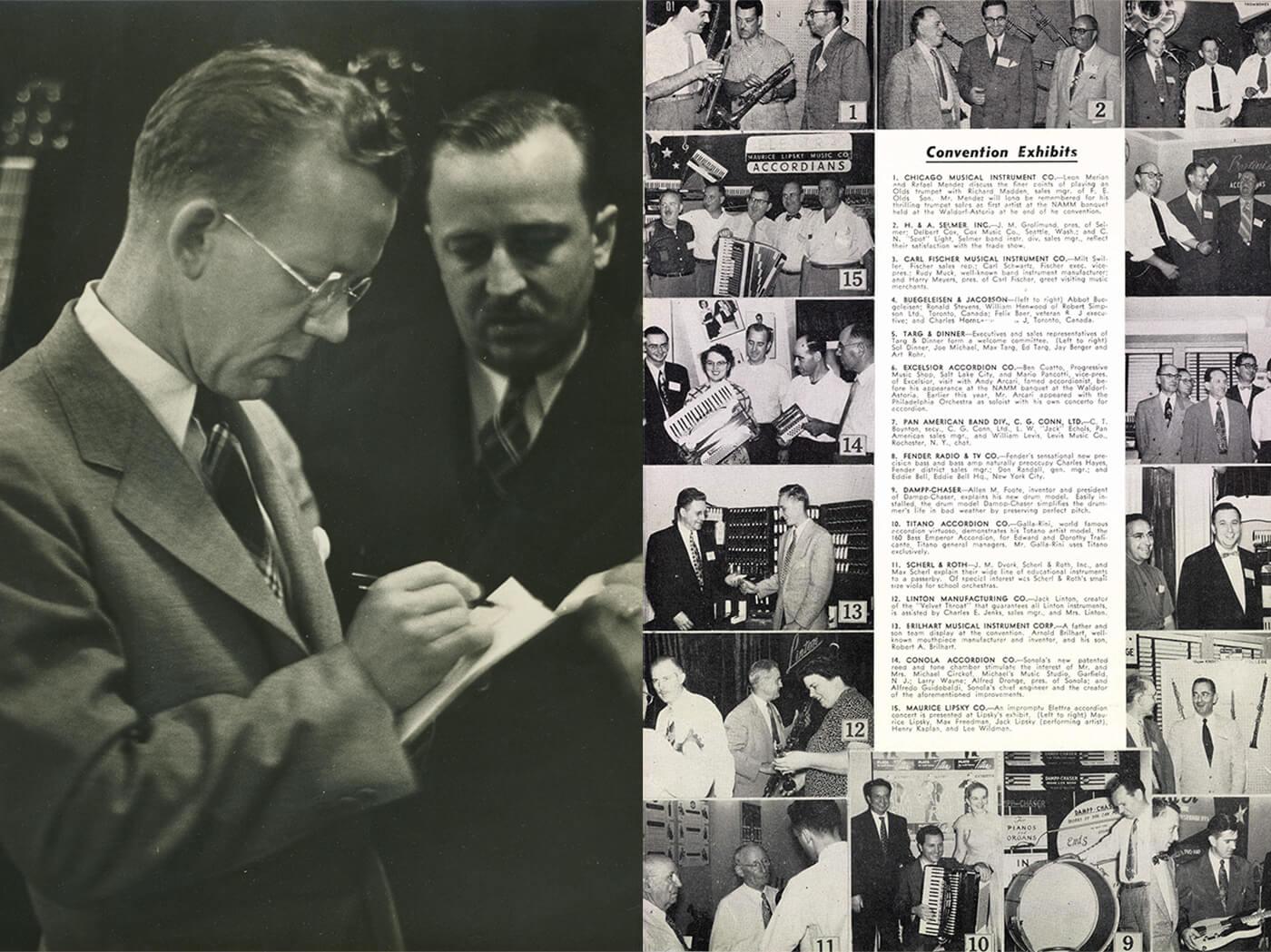 NAMM history CF Martin Signing Exhibit List