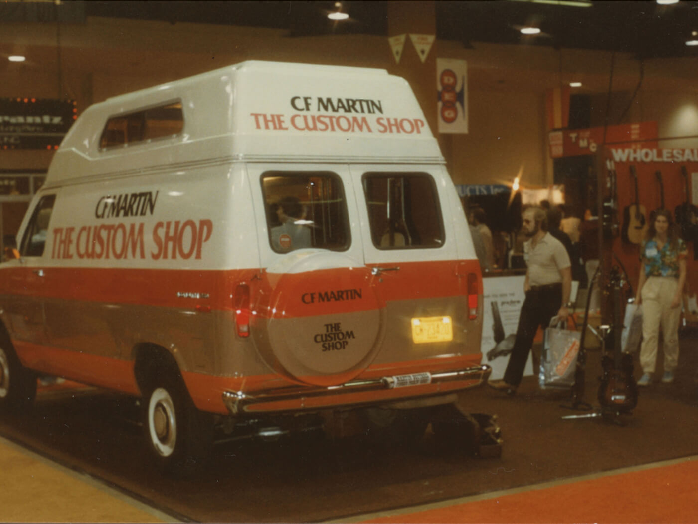 NAMM History Martin Custom Shop Van