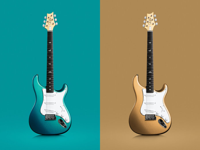 prs silver sky blue golden