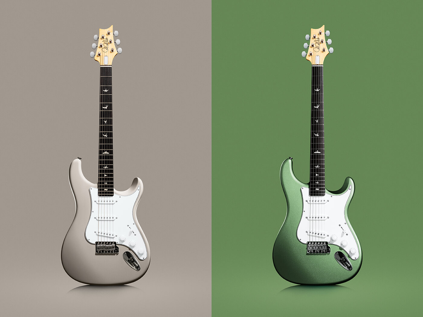 prs silver sky sand green