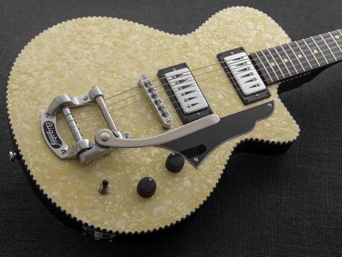The Rick Vito Signature Soulshaker in Ivory Pearloid