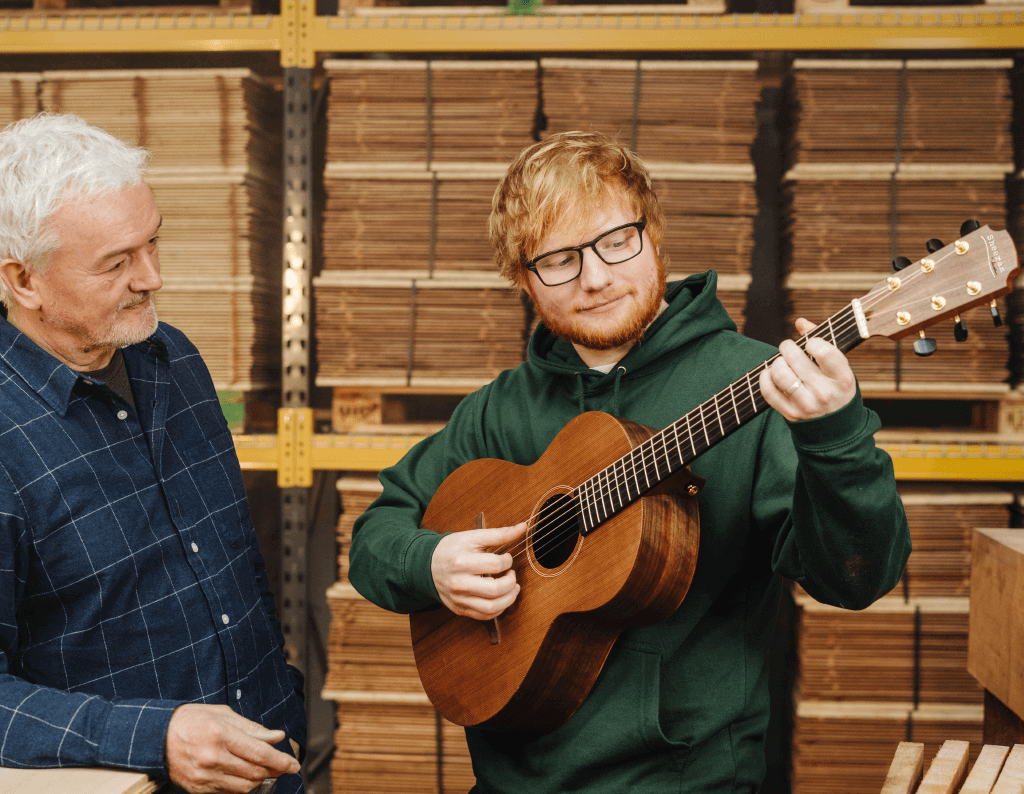 namm 2019 ed sheeran and lowden collaborate on acoustic guitar brand all things. Black Bedroom Furniture Sets. Home Design Ideas