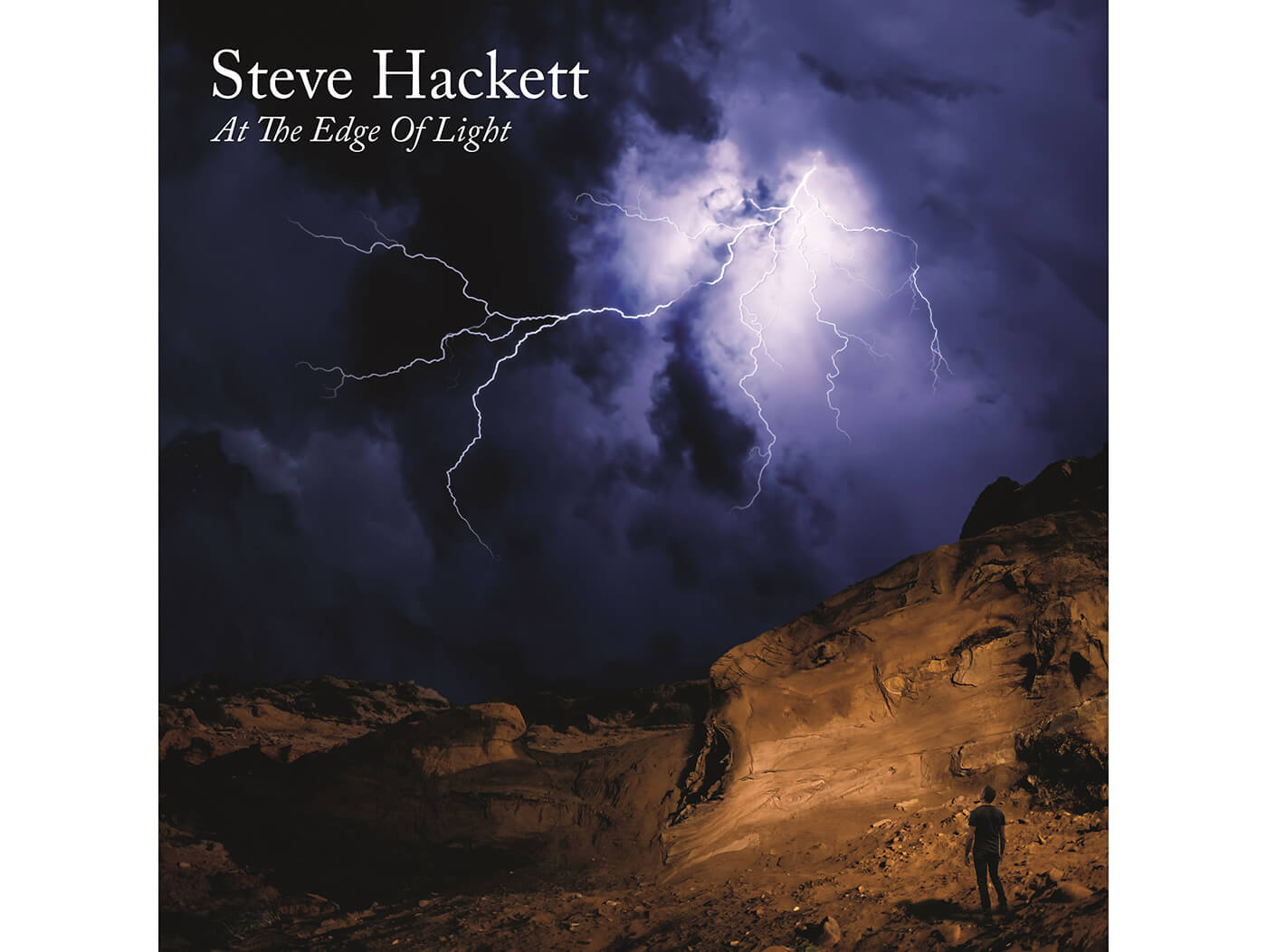 Steve Hackett At the edge of the light album cover