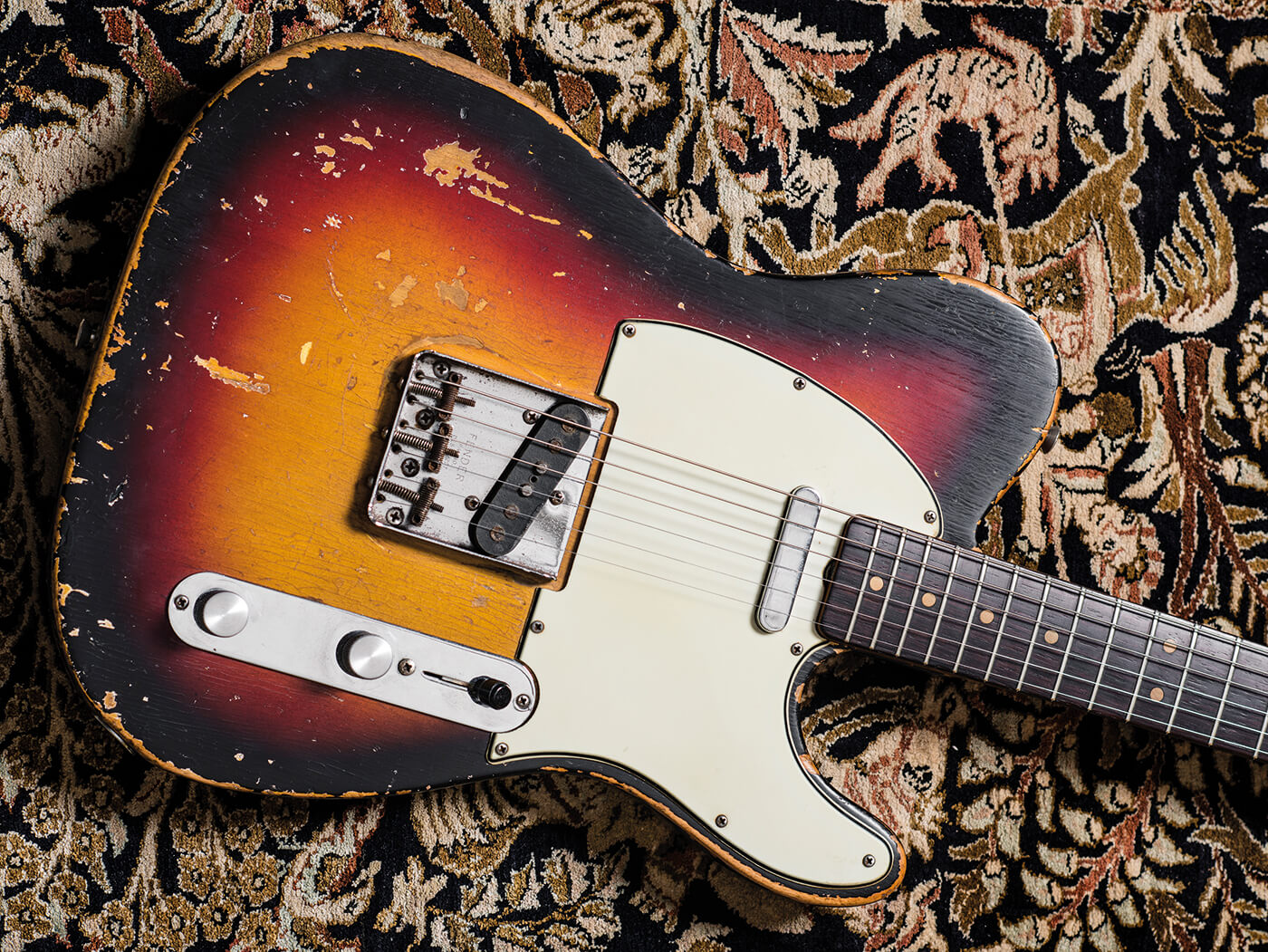 Well-worn 1964 Telecaster