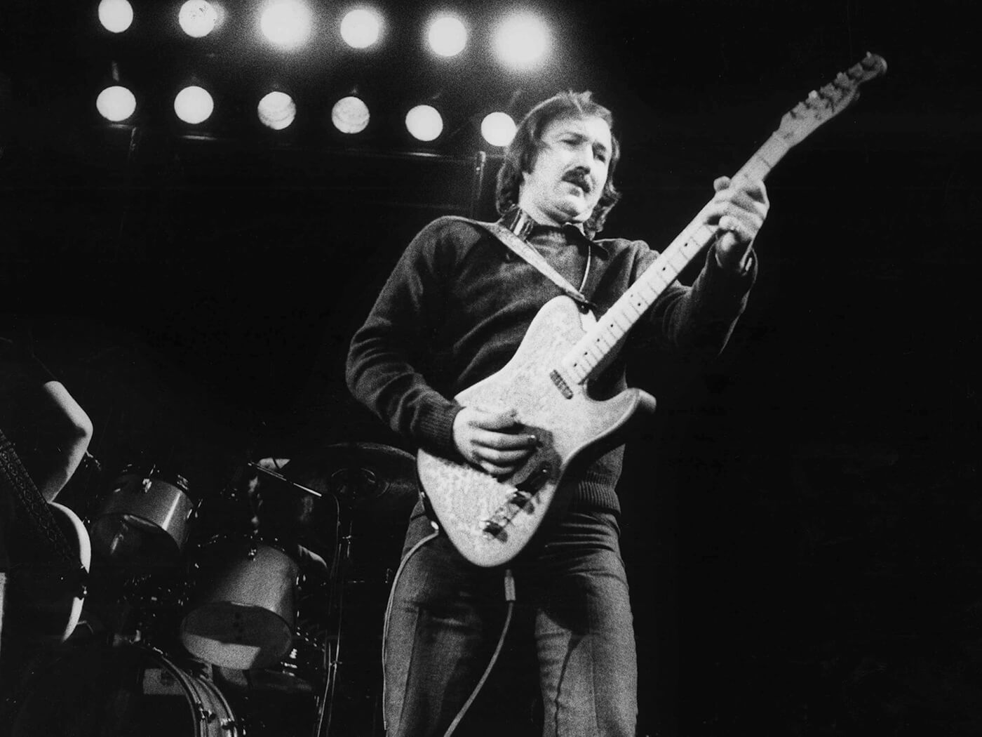 James Burton with Paisley Tele
