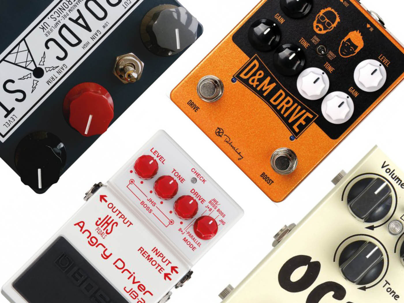 20 best overdrive pedals to buy in 2019 - Guitar com | All