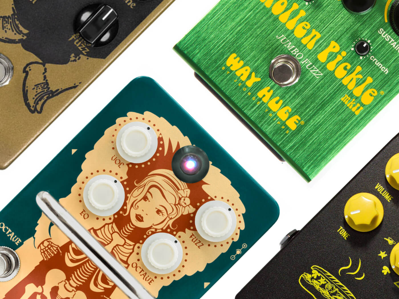20 best fuzz pedals for guitarists in 2019
