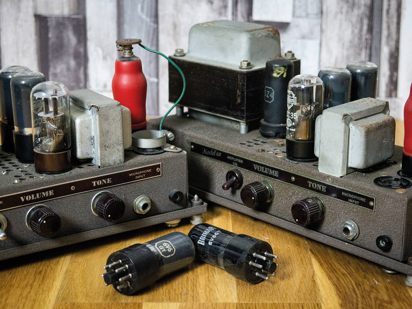 DIY Workshop: Bell & Howell Filmosound Amp Conversion (Part One