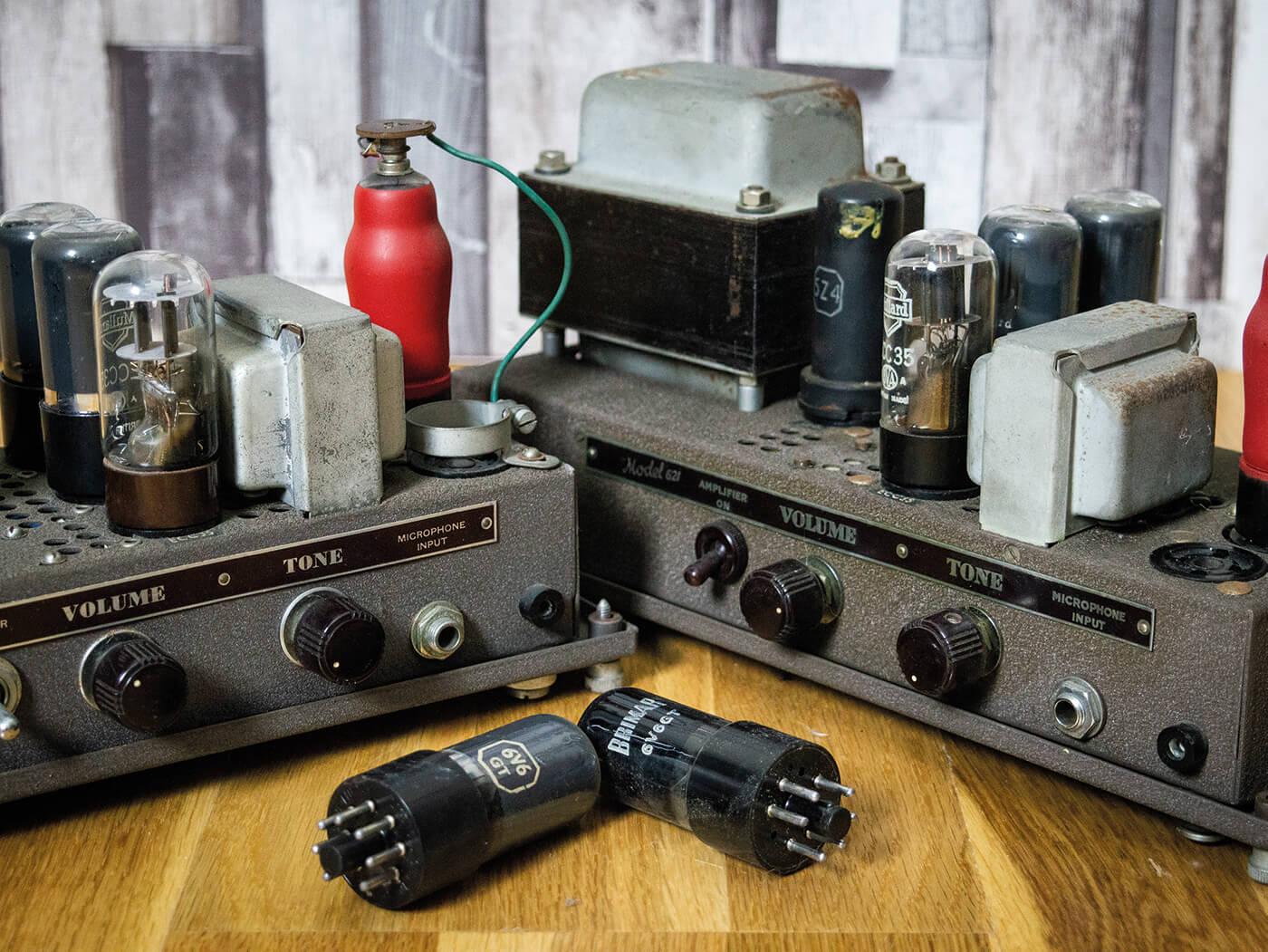 DIY Workshop: Bell & Howell Filmosound Amp Conversion (Part