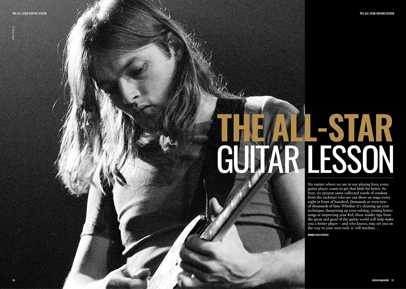 david gilmour guitar lesson