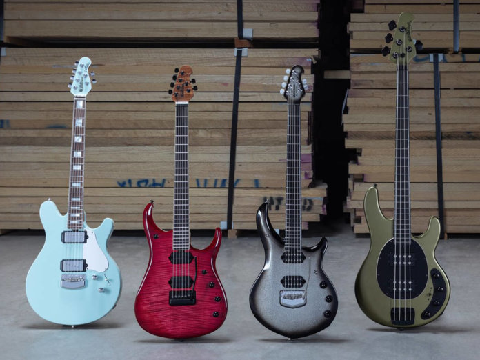 Ernie Ball Music Man February Reserve Collection