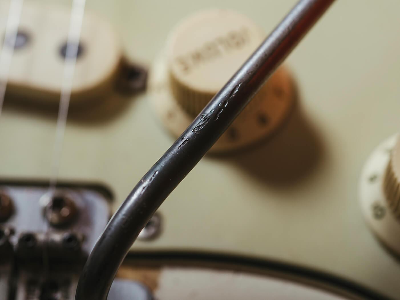 Fender Jimi Hendrix 63 tremolo detail