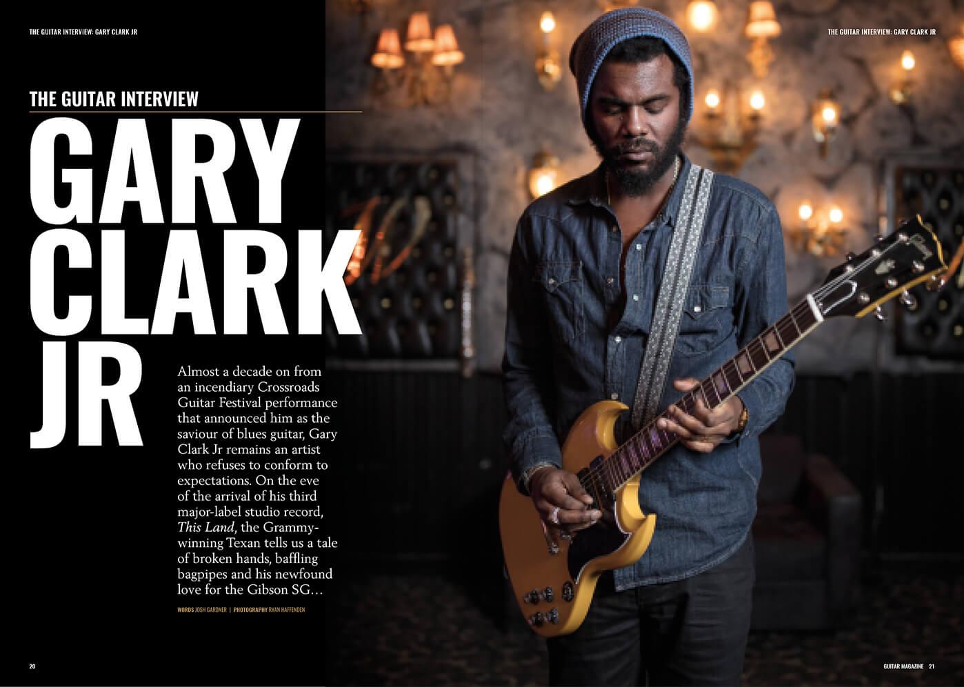 Gary Clark Jr interview