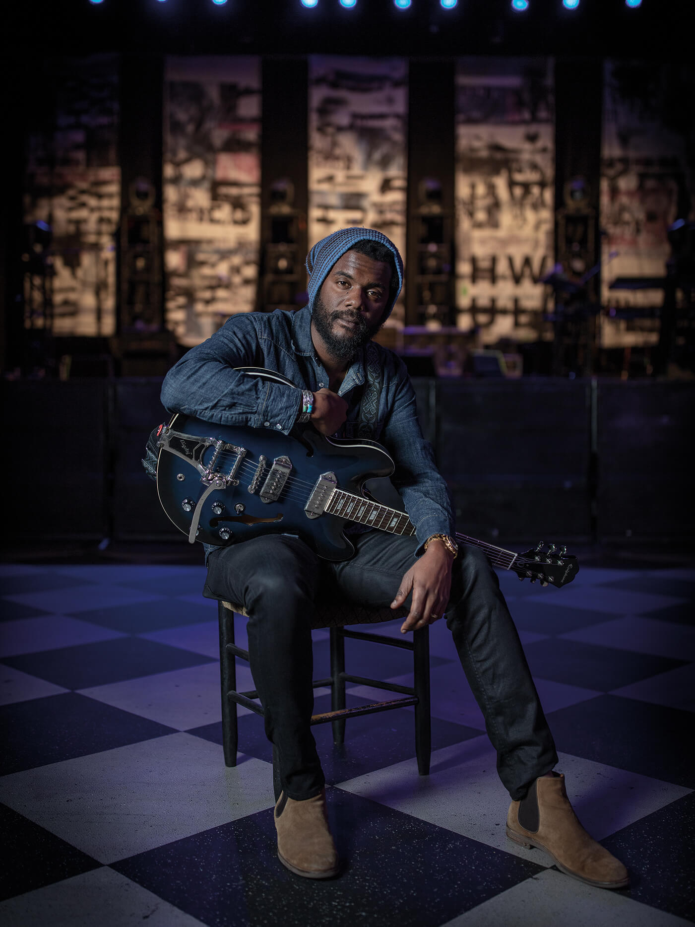 Gary Clark Jr Interview Epiphone Casino