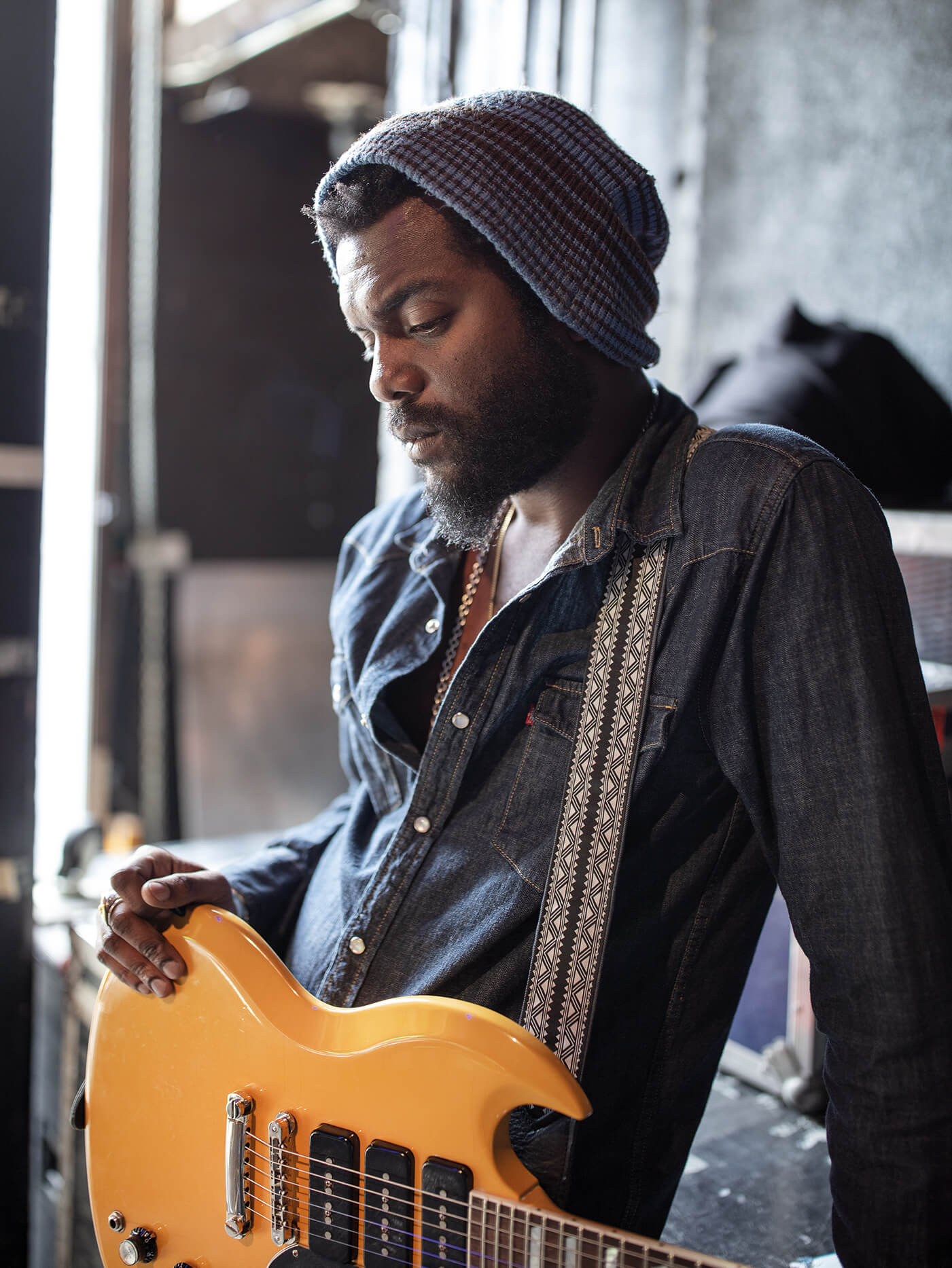 Gary Clark Jr Interview Triple P-90 SG
