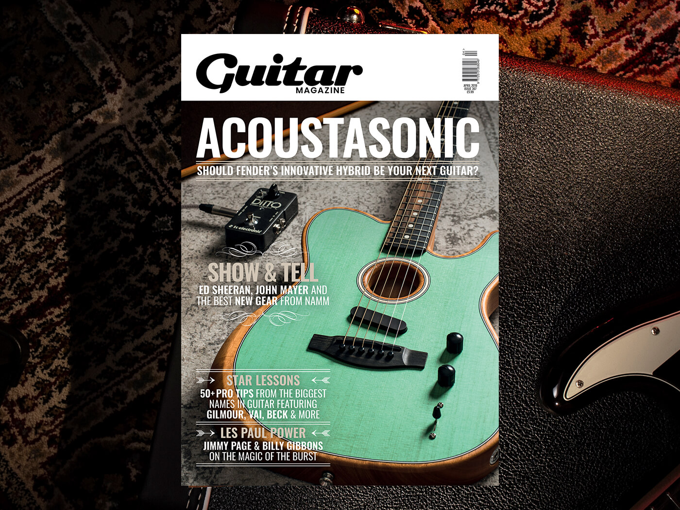The April 2019 issue of Guitar Magazine is out now! - Guitar com