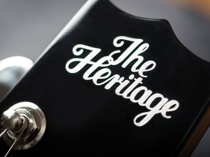 Heritage H-137 and H-150 headstock