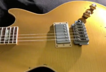 Joe Perry Gibson Goldtop Signature