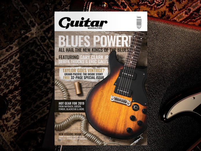 guitar magazine march issue