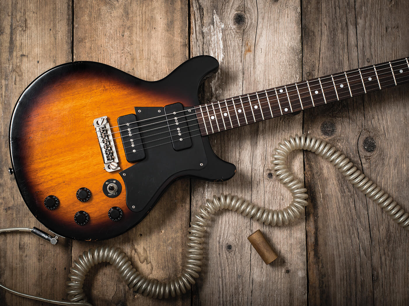 review: maybach lester jr double cut special - guitar | all