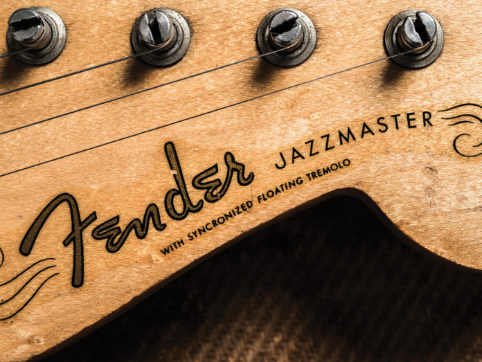 25 Offset Tips Jazzmaster Headstock