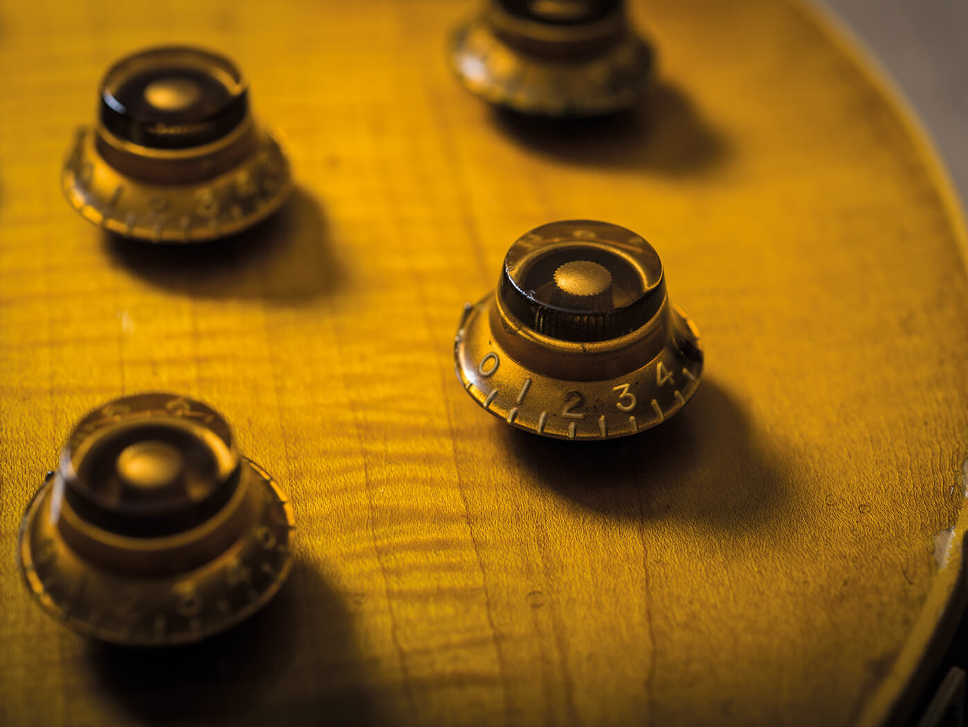 Cosmo Collection Les Paul knobs