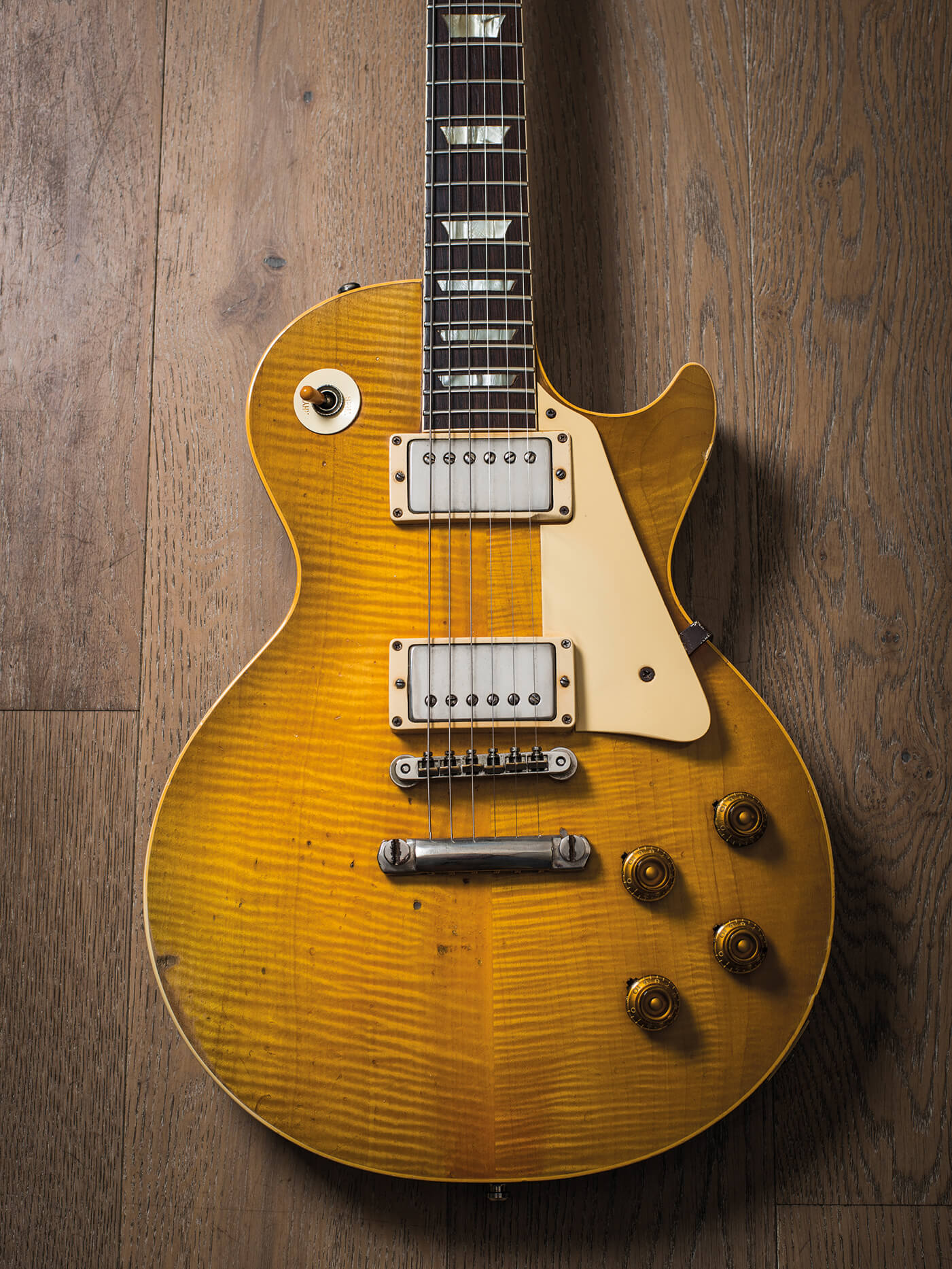 Cosmo Collection Les Paul Top View