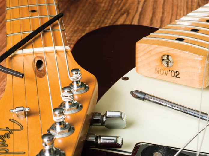 DIY Truss Rod Adjustment Hero