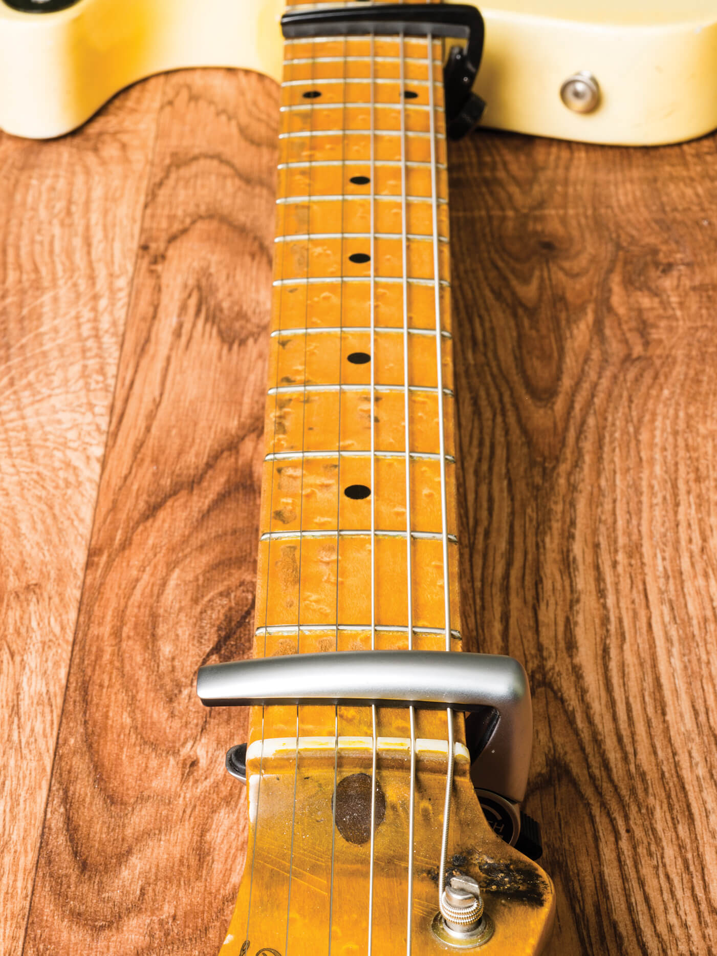 DIY Truss Rod Adjustment Tele Neck
