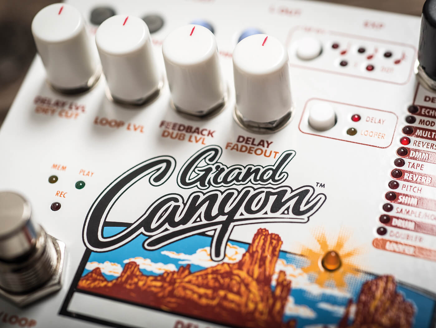 EHX Grand Canyon knobs