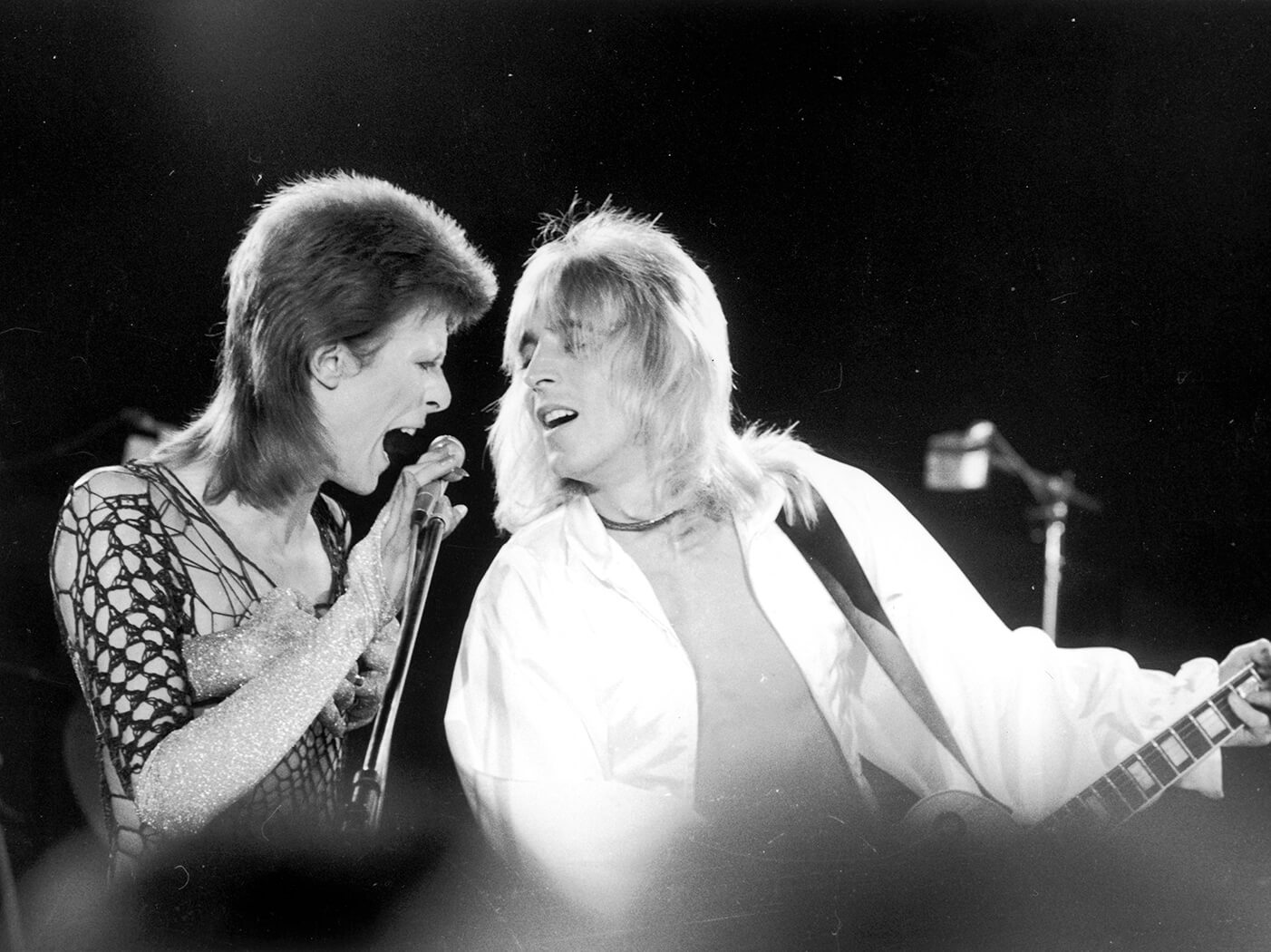 david bowie mick ronson