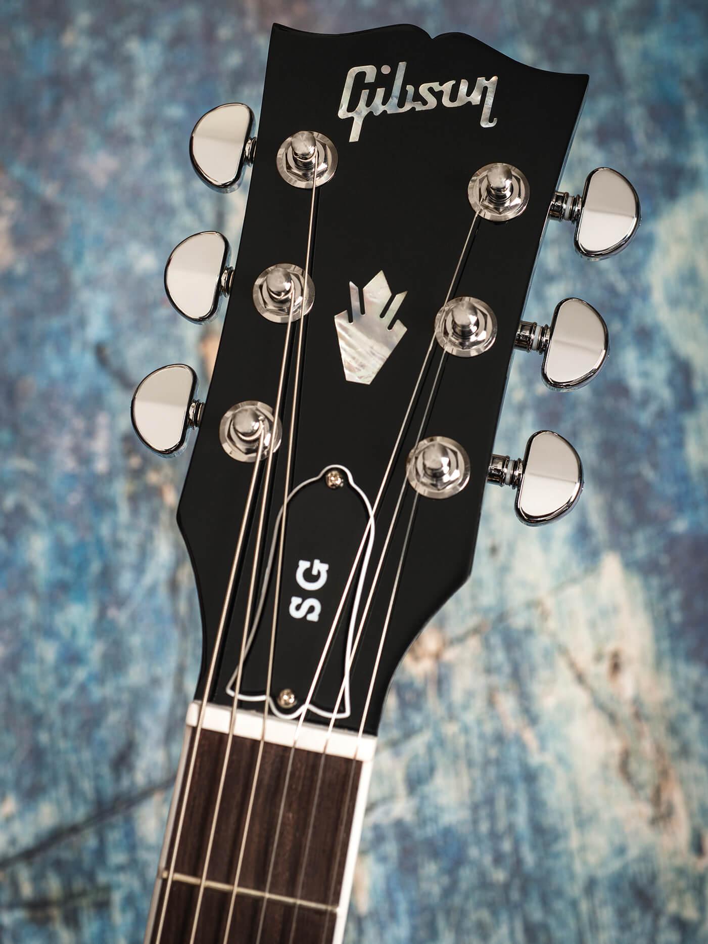Gibson 2019 SG Standard headstock