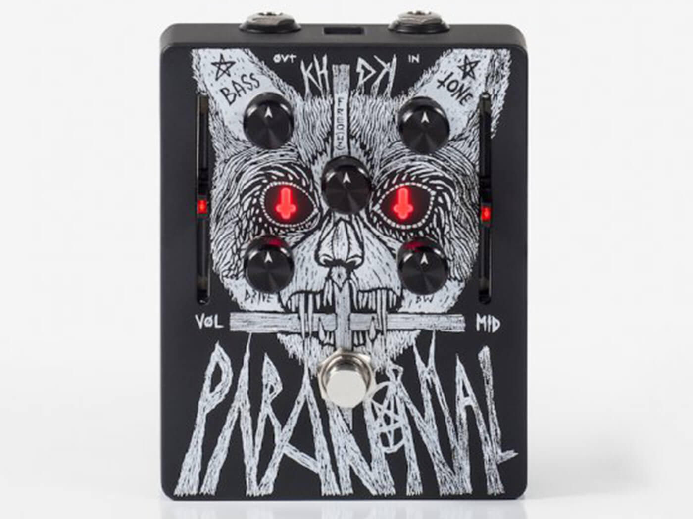 KHDK Electronics Gary Holt Paranormal Parametric EQ Overdrive