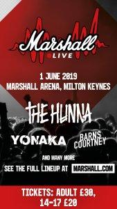 marshall live poster