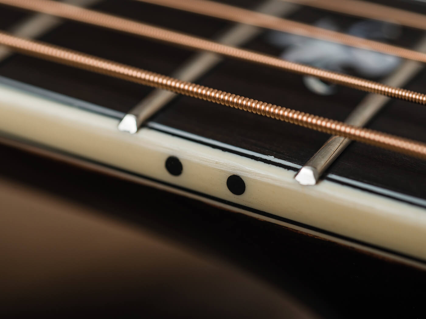 Eastman double top review fingerboard
