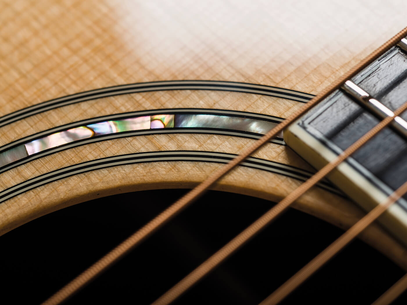 Eastman double top review rosette inlay