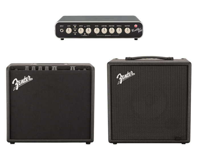 Fender March amps 2019
