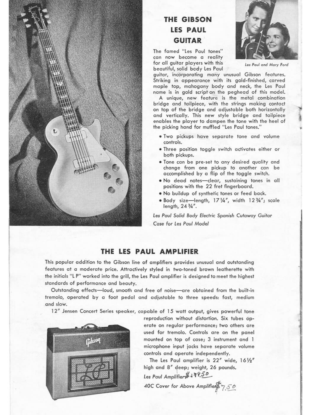 Gibson les paul history