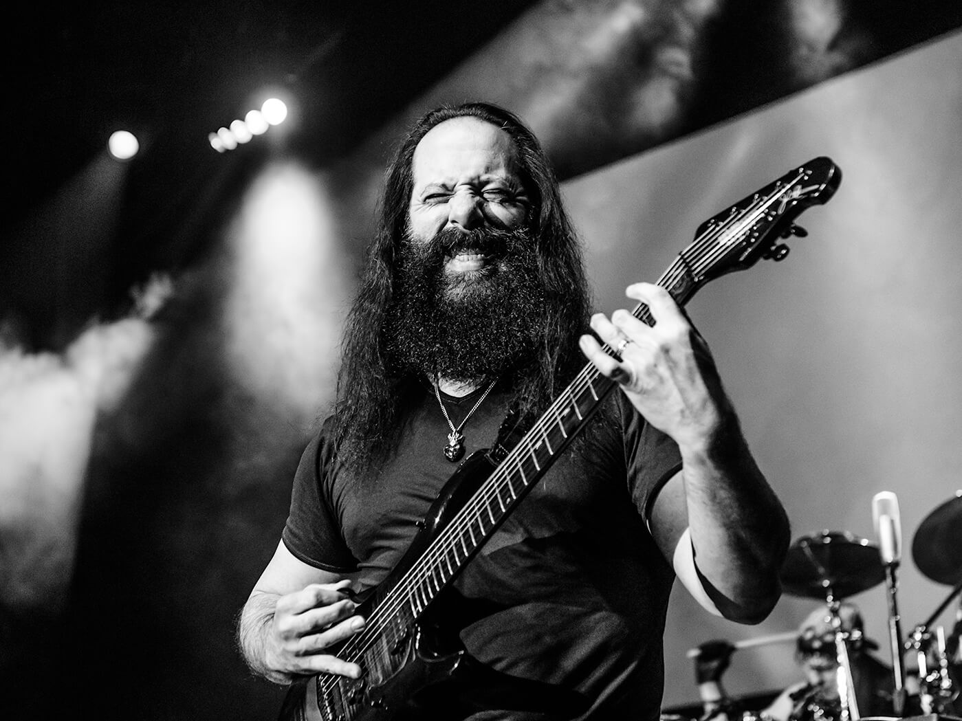 John Petrucci interview live on stage
