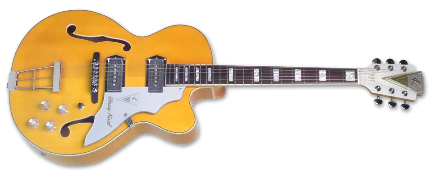 Kay Guitars unveils reissues of Barney Kessel signature models
