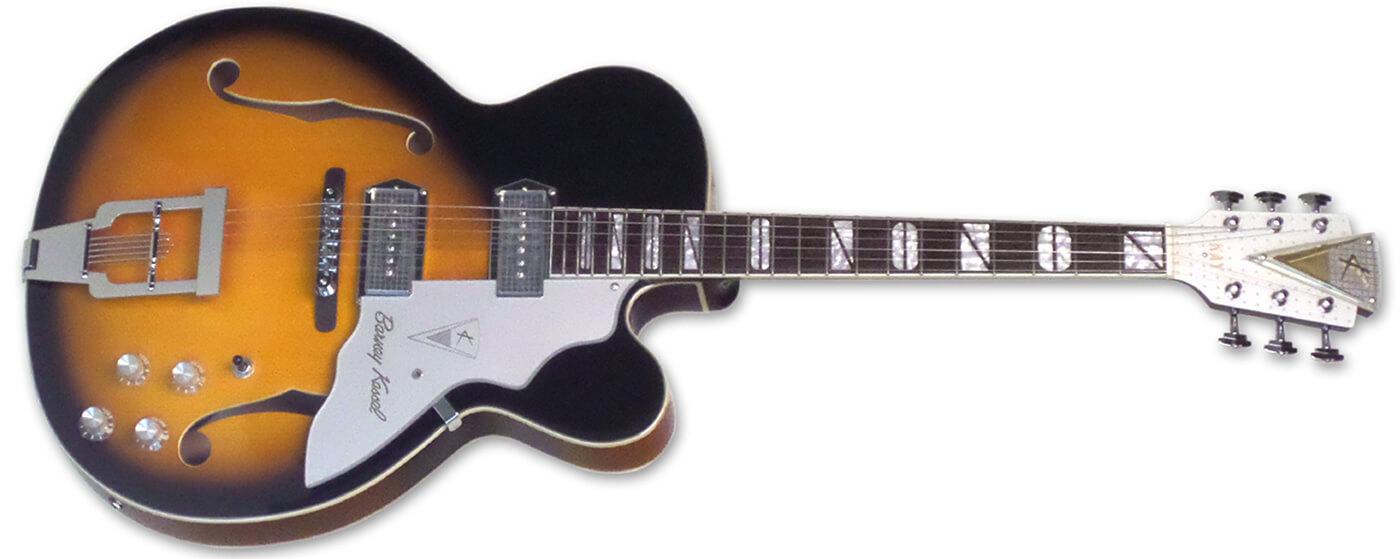 Kay Guitar Barney Kessel reissue K8700V Jazz Special