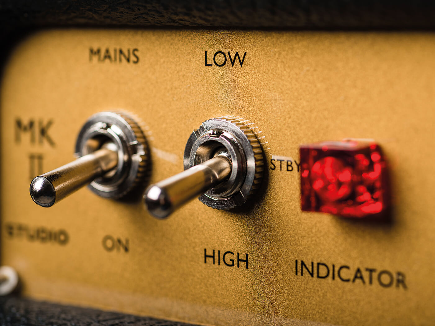 Marshall Studio Classic wattage switch