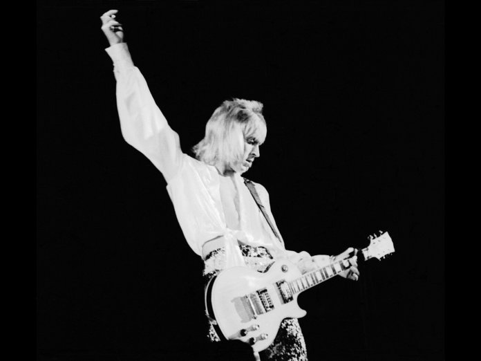 Mick Ronson 1968 Les Paul Custom