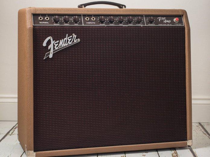 1961 Fender Pro Amp feature image